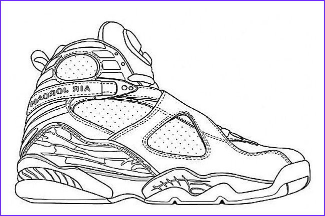 Coloring Jordan Shoes Luxury Photography Undefeated X Air Jordan 8 Retro to Release In 2017