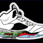 Coloring Jordans Luxury Stock Jordan Sticker Transparent And Png Clipart Free Download Ywd