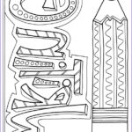 Coloring Journal New Photos Subject Cover Pages Coloring Pages Classroom Doodles