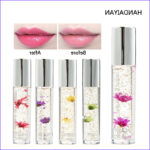 Coloring Lip Balm Cool Photography Natural Moisturizer Lipgloss Tint 5 Colors Gold Oil Flower