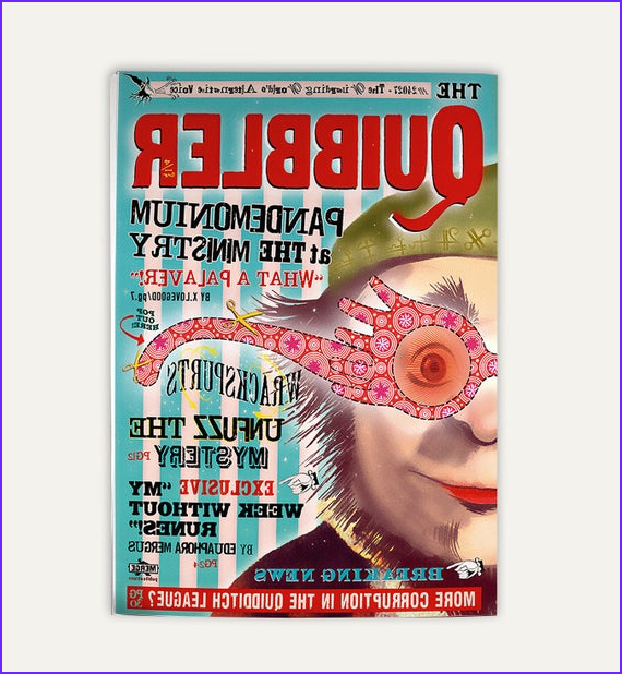Coloring Magazine Beautiful Photography Quibbler Magazine Two Sided Cover and Interior Pages