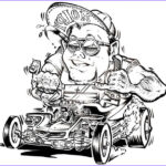 Coloring Magazine Luxury Photography Rat Fink Colouring Pages Hot Rod Coloring
