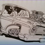 Coloring Magazine Unique Images Pin by Dan the Hot Rod Man 1 On Artist Richard Linkel