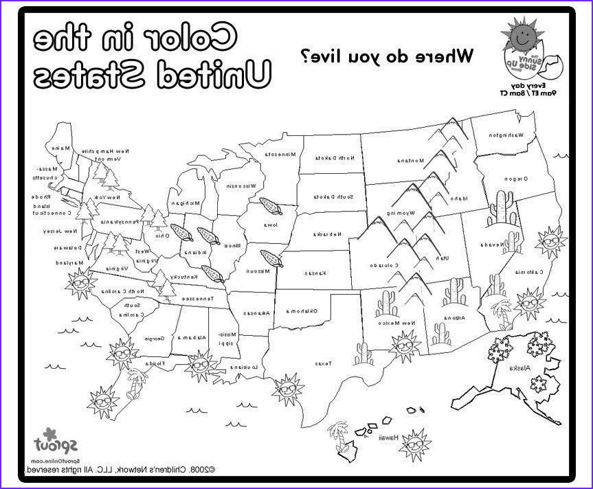 Coloring Maps Of Usa Unique Photos Us Map Coloring Page