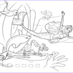 Coloring Mermaid New Photography Barbie Coloring Pages Line Carclassinfo