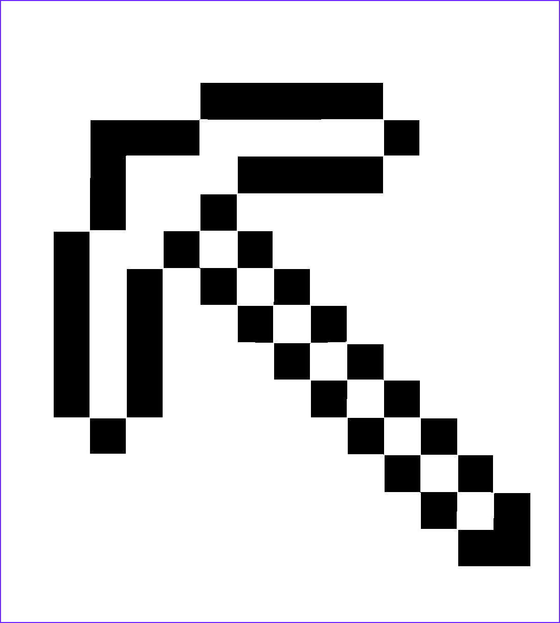 Coloring Minecraft Cool Image Minecraft Pickaxe Coloring Pages