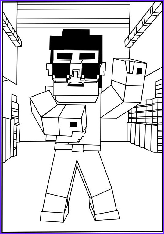 Coloring Minecraft Luxury Gallery 37 Awesome Printable Minecraft Coloring Pages for toddlers