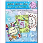 Coloring Note Cards Inspirational Gallery Amazon Coloring Book Of Greeting Cards 24 Handmade