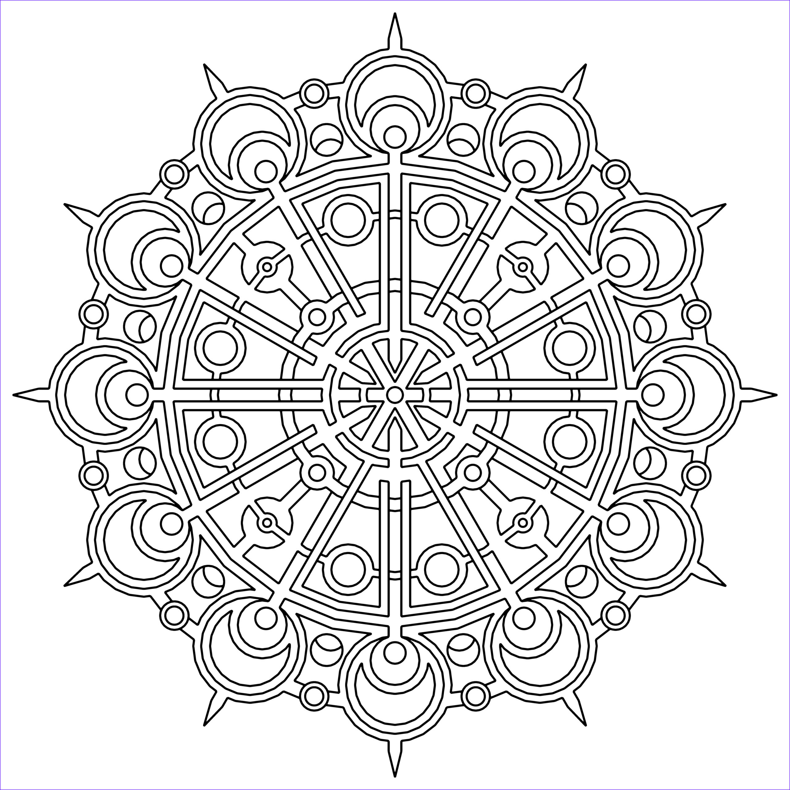 Coloring Paes Cool Gallery Free Printable Geometric Coloring Pages for Kids