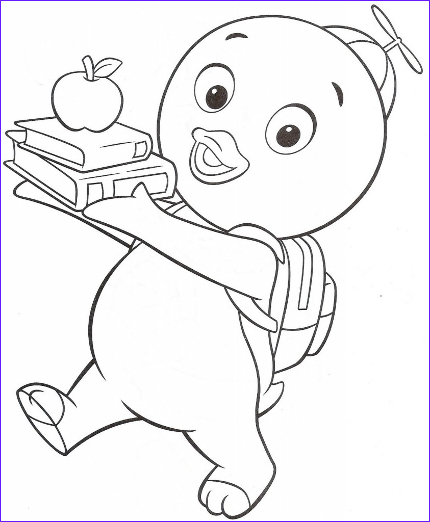 Coloring Paes Elegant Images Free Printable Backyardigans Coloring Pages for Kids