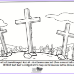 Coloring Page Cross Awesome Image Jesus On The Cross Bible Coloring Pages