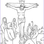 Coloring Page Cross Awesome Photos Stations Of The Cross Coloring Pages 12 Jesus S On