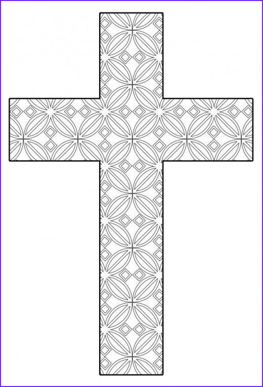 Coloring Page Cross Awesome Stock Free Printable Cross Coloring Pages Color