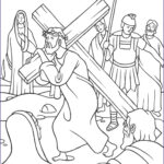 Coloring Page Cross Beautiful Collection Stations Of The Cross Coloring Pages The Catholic Kid