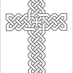 Coloring Page Cross Inspirational Images Cross Coloring Pages Coptic Cross