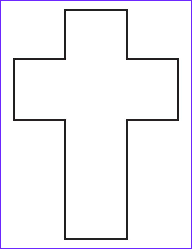 cross coloring page 1d5420