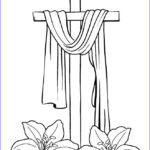 Coloring Page Cross Luxury Stock Free Printable Cross Coloring Pages For Kids