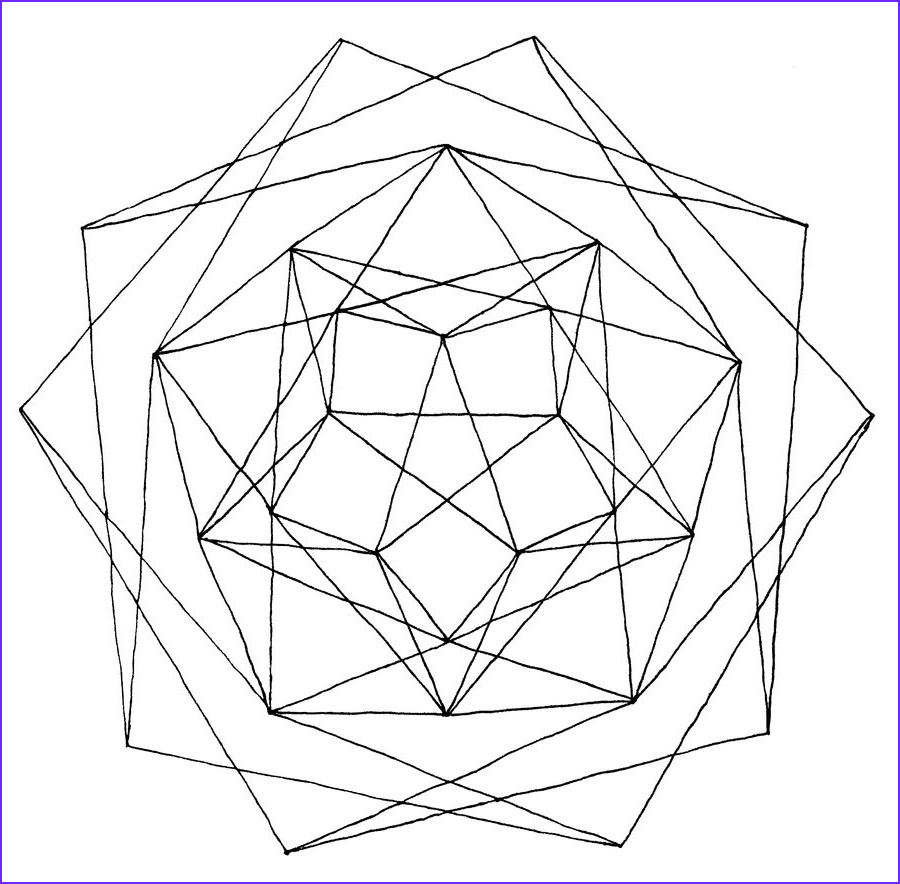 Coloring Page Designs Beautiful Image Free Printable Geometric Coloring Pages for Adults