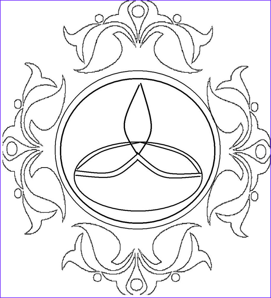 Coloring Page Designs Beautiful Stock Free Printable Rangoli Coloring Pages for Kids