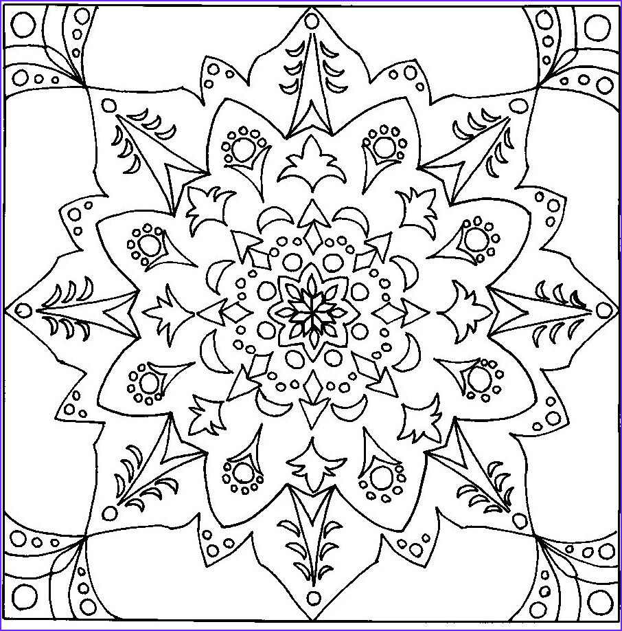 Coloring Page Designs Cool Gallery 12 Typical Coloring Pages for Adults Mandala