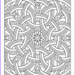 Coloring Page Designs Inspirational Stock Difficult Geometric Design Coloring Pages