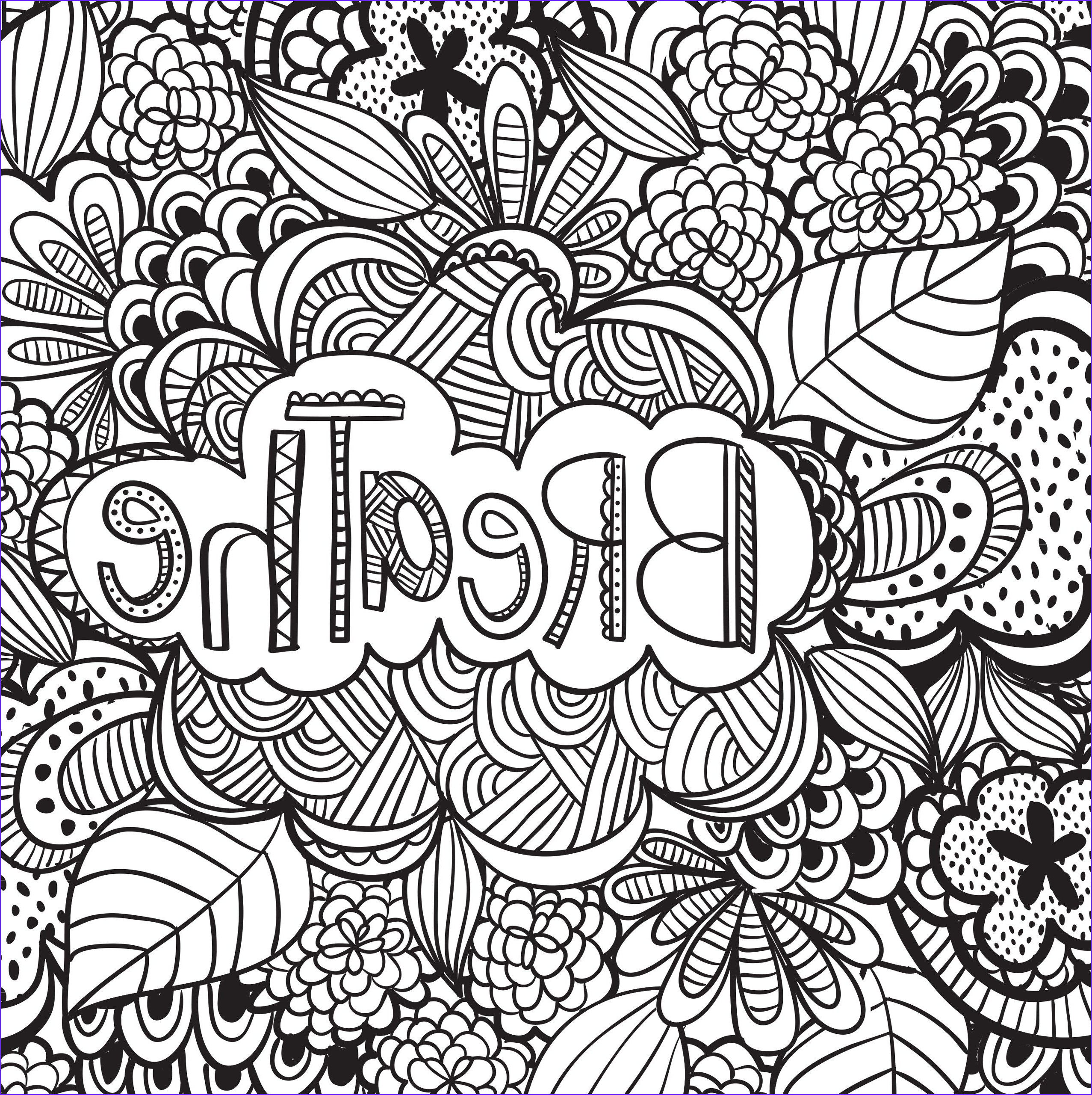 Coloring Page Designs Luxury Image Joyful Inspiration Adult Coloring Book 31 Stress