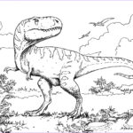 Coloring Page Dinosaur Awesome Photos Extinct Animals 36 Printable Dinosaur Coloring Pages