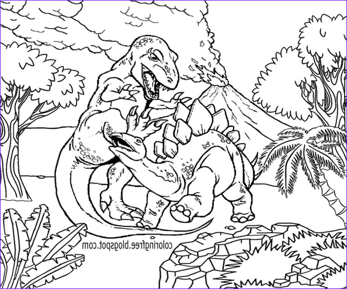 Coloring Page Dinosaur Beautiful Photos Free Coloring Pages Printable to Color Kids
