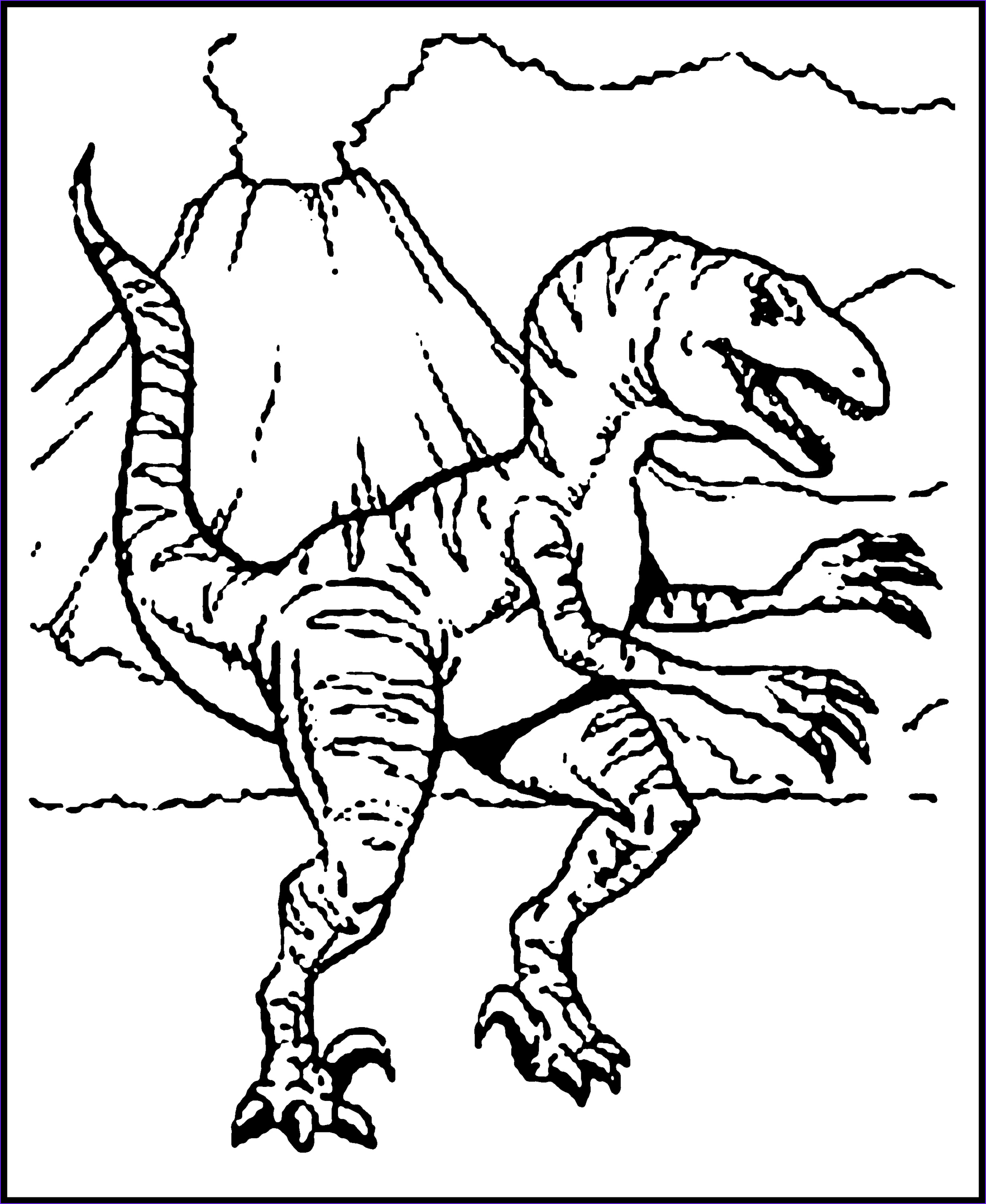 Coloring Page Dinosaur Unique Photos Free Printable Dinosaur Coloring Pages for Kids