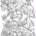 Coloring Page For Adults Beautiful Photos Floral Fantasy Digital Version Adult Coloring Book