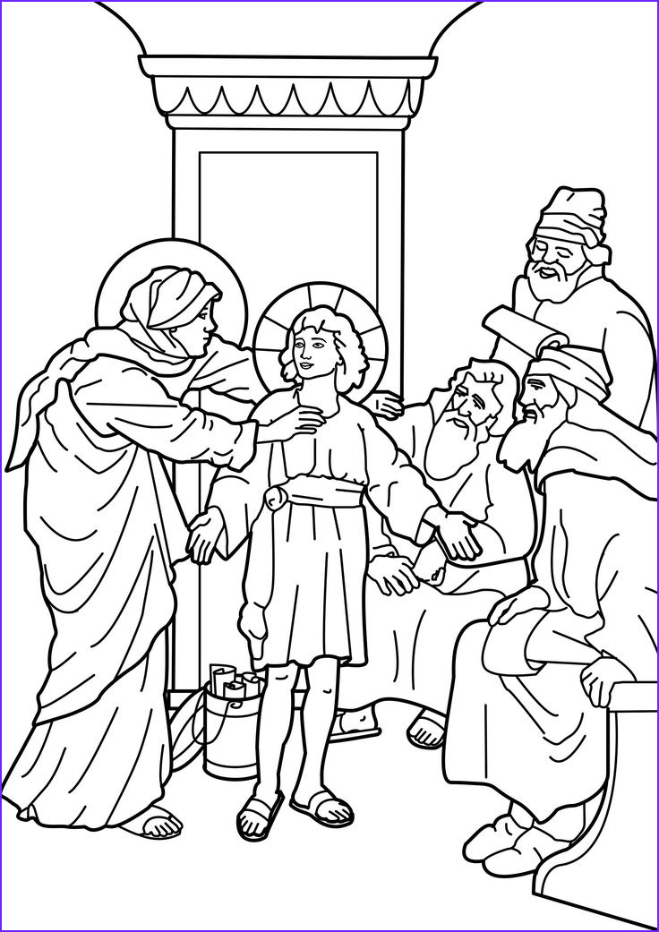 Coloring Page Of Jesus Awesome Collection 19 Best Images About Jesus In the Temple On Pinterest