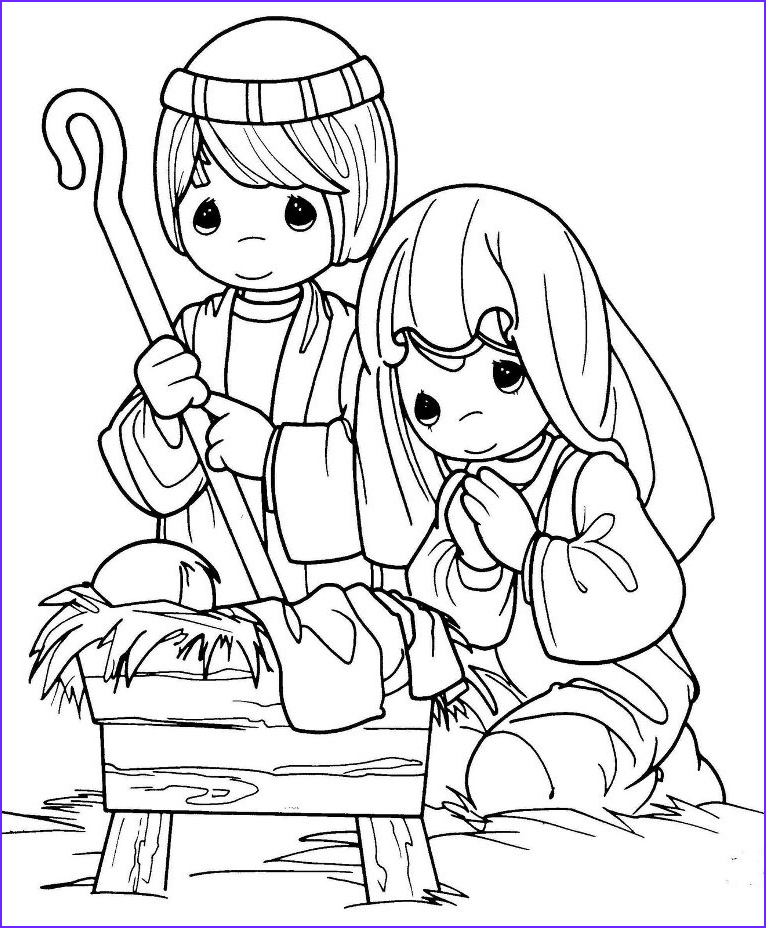 Coloring Page Of Jesus Awesome Image Birth Of Jesus Coloring Pages