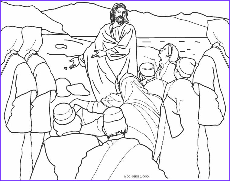 Coloring Page Of Jesus Beautiful Photos Free Printable Jesus Coloring Pages for Kids