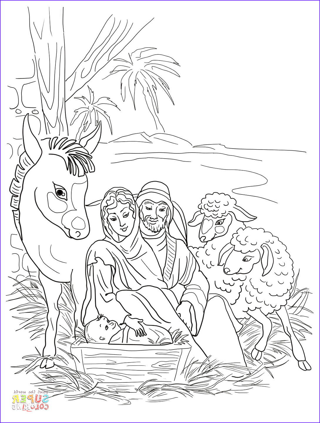Coloring Page Of Jesus Inspirational Stock Free Christian Coloring Pages for Children and Adults