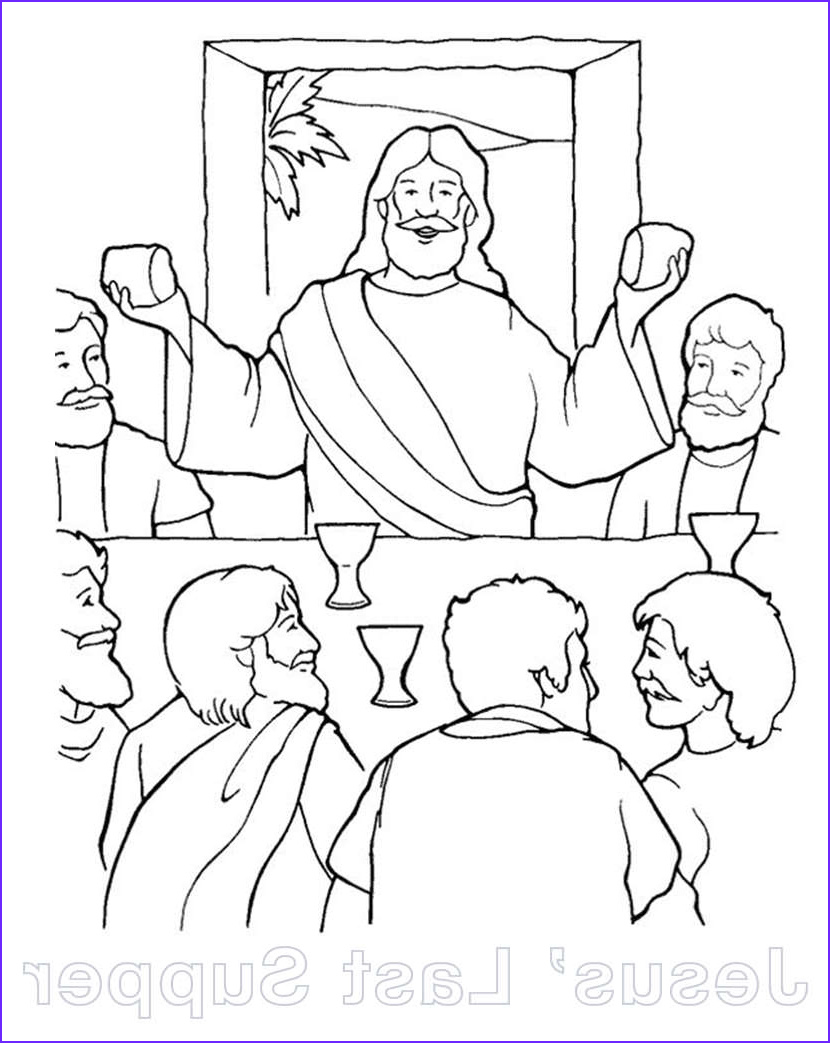 Coloring Page Of Jesus Luxury Image Free Christian Coloring Pages for Children and Adults