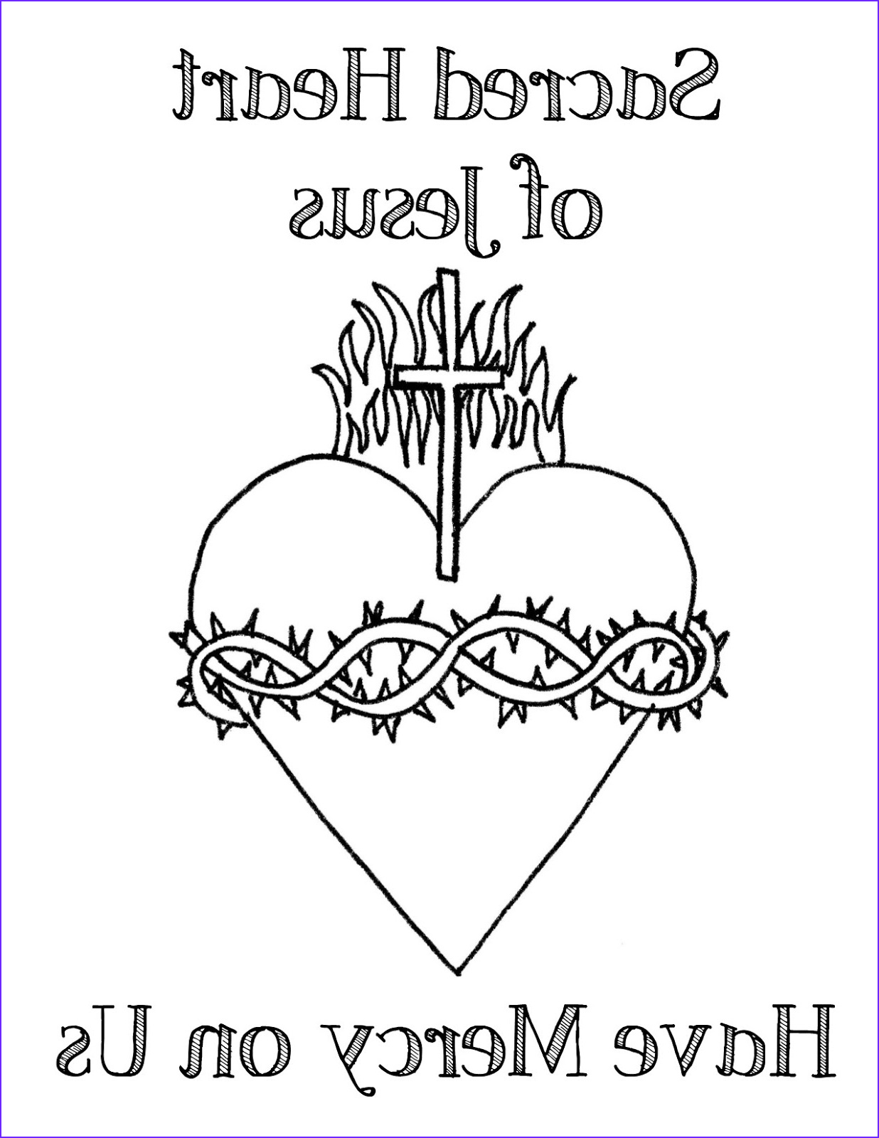 Coloring Page Of Jesus Luxury Photos Look to Him and Be Radiant the Sacred Heart Of Jesus and