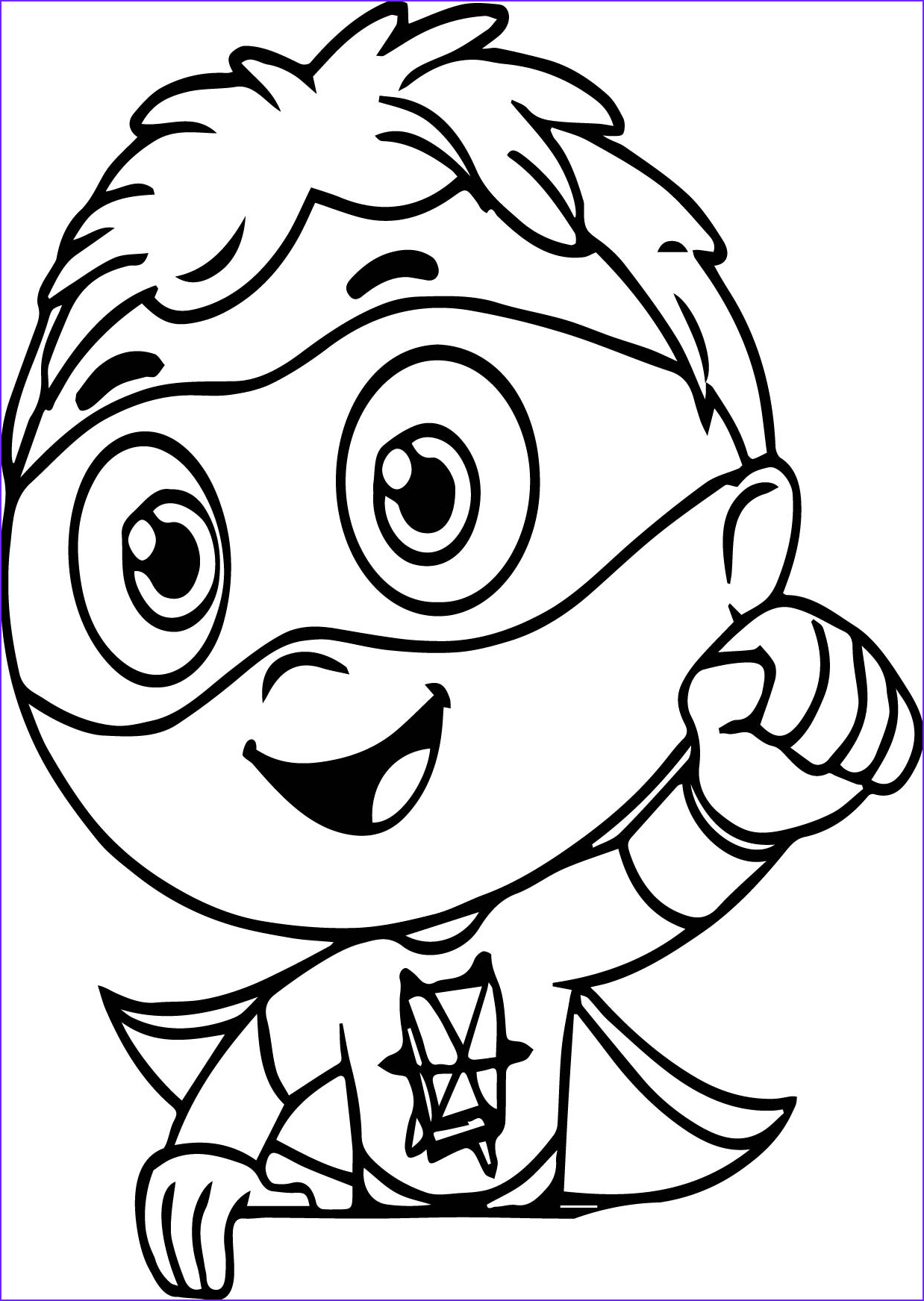 super coloring pages