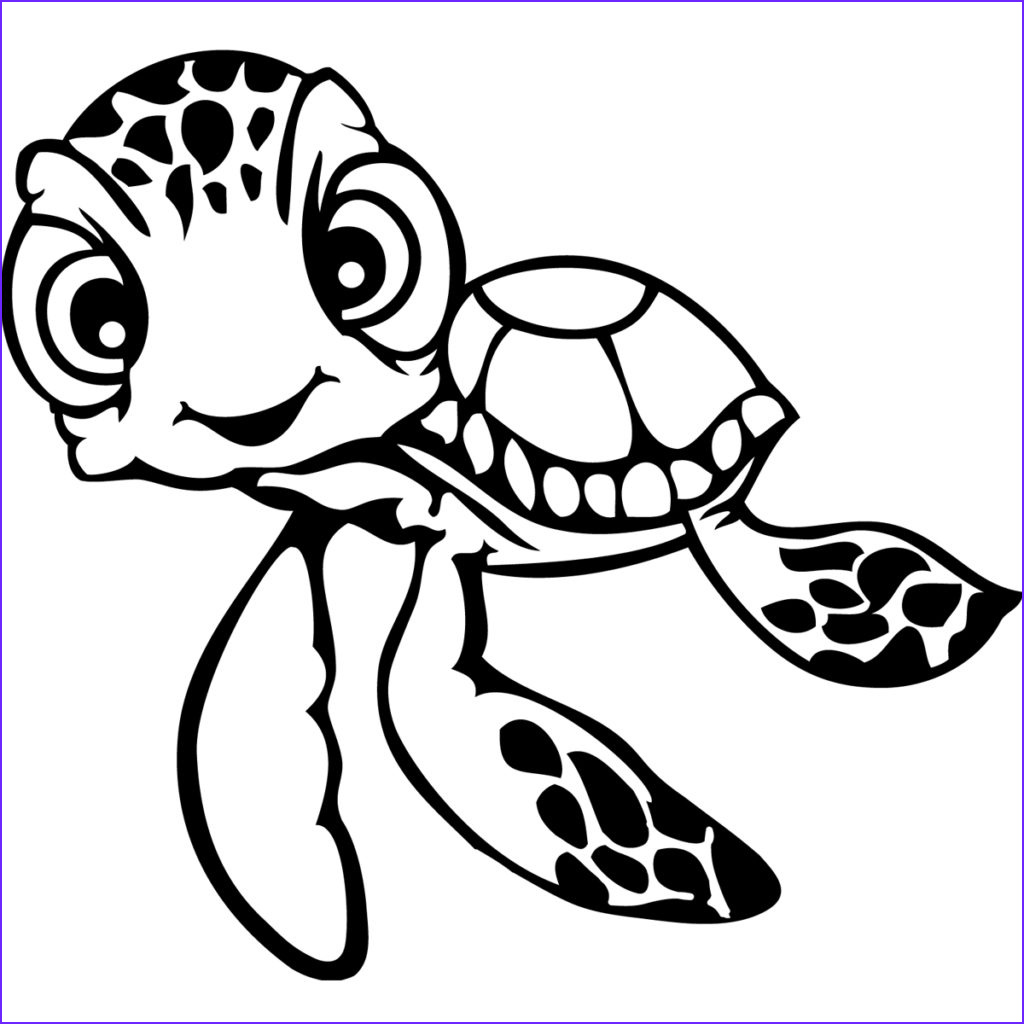 Coloring Page Turtle Awesome Stock Turtle Outline Drawing at Getdrawings