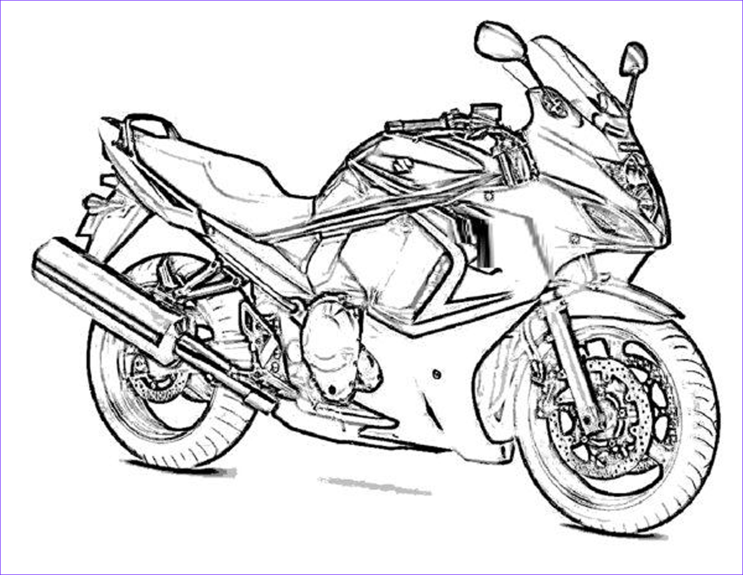 best boy coloring pages motorcycle 3028