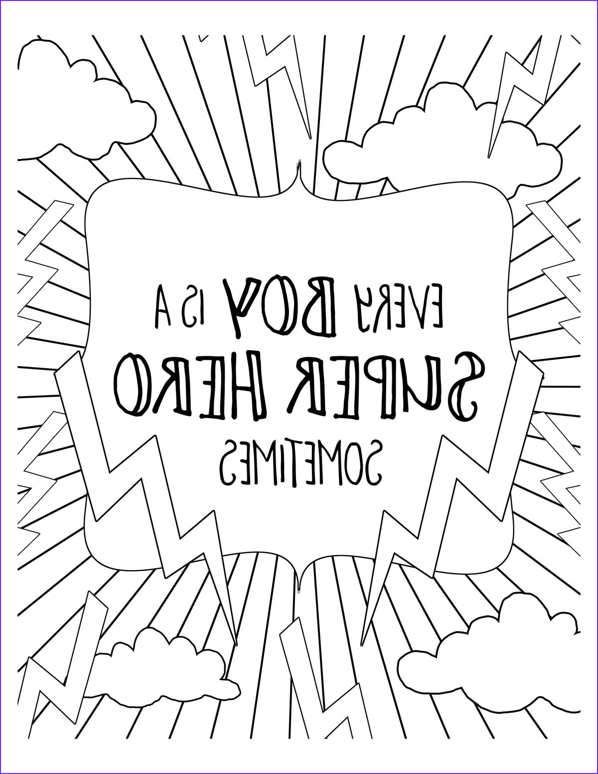 free super hero coloring pages