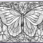 Coloring Pages Butterfly Luxury Collection Insect Coloring Pages Best Coloring Pages For Kids