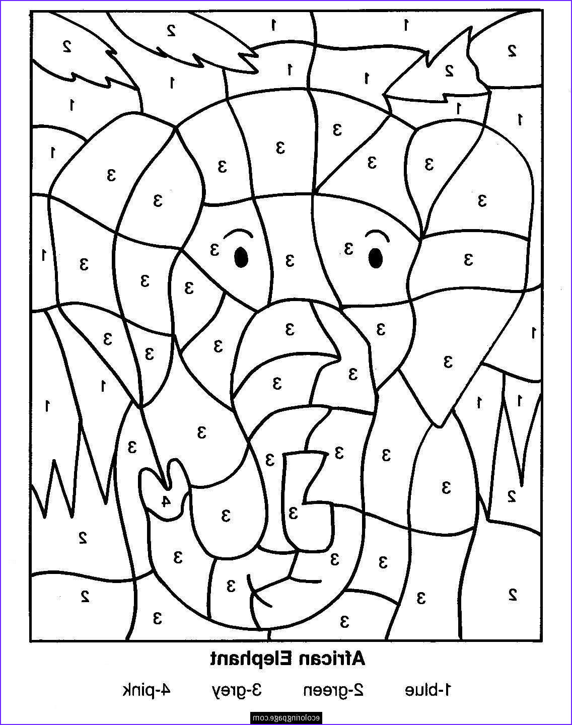 Coloring Pages by Number Best Of Photography Free Printable Color by Number Coloring Pages Best