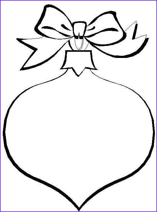 Coloring Pages Christmas ornaments New Images Christmas ornament Coloring Pages
