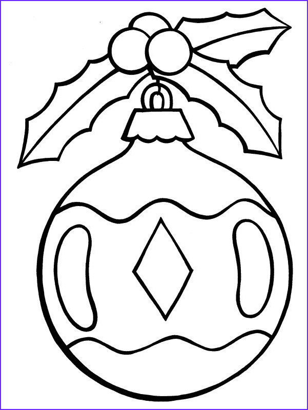 Coloring Pages Christmas ornaments New Photos ornament Coloring Page Images Google Search
