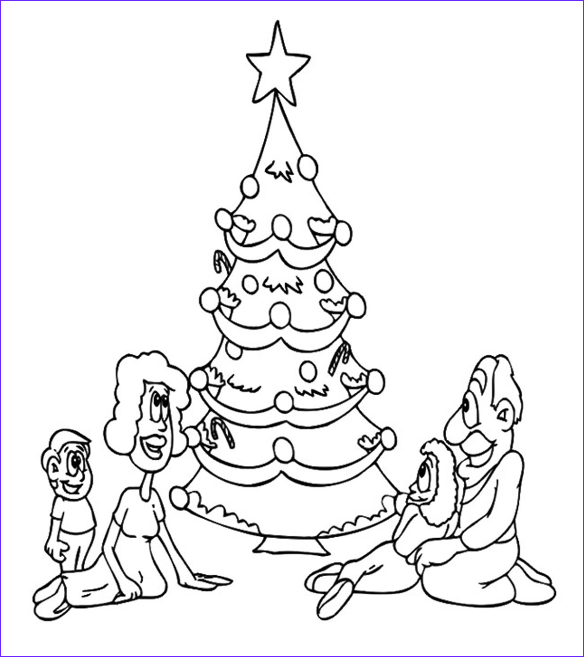 Coloring Pages Christmas Tree Inspirational Gallery Holiday Coloring Pages Momjunction