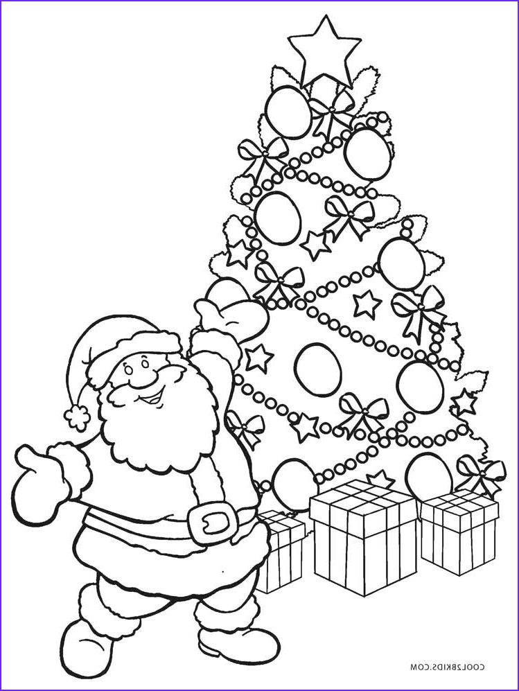 Coloring Pages Christmas Tree Luxury Photos Printable Christmas Tree Coloring Pages for Kids