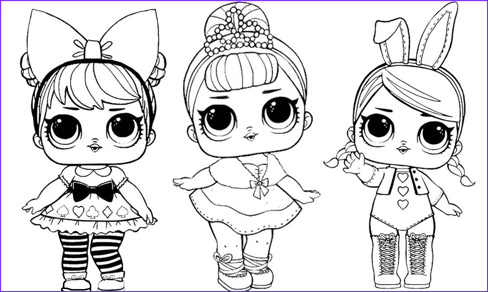 dolls coloring pages babies