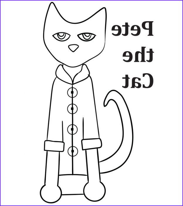 pete the cat coloring pages
