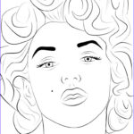 Coloring Pages Com Inspirational Photography Marilyn Monroe Coloring Pages Cartoon