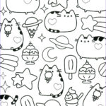 Coloring Pages Com New Image Pusheen Coloring Pages Book